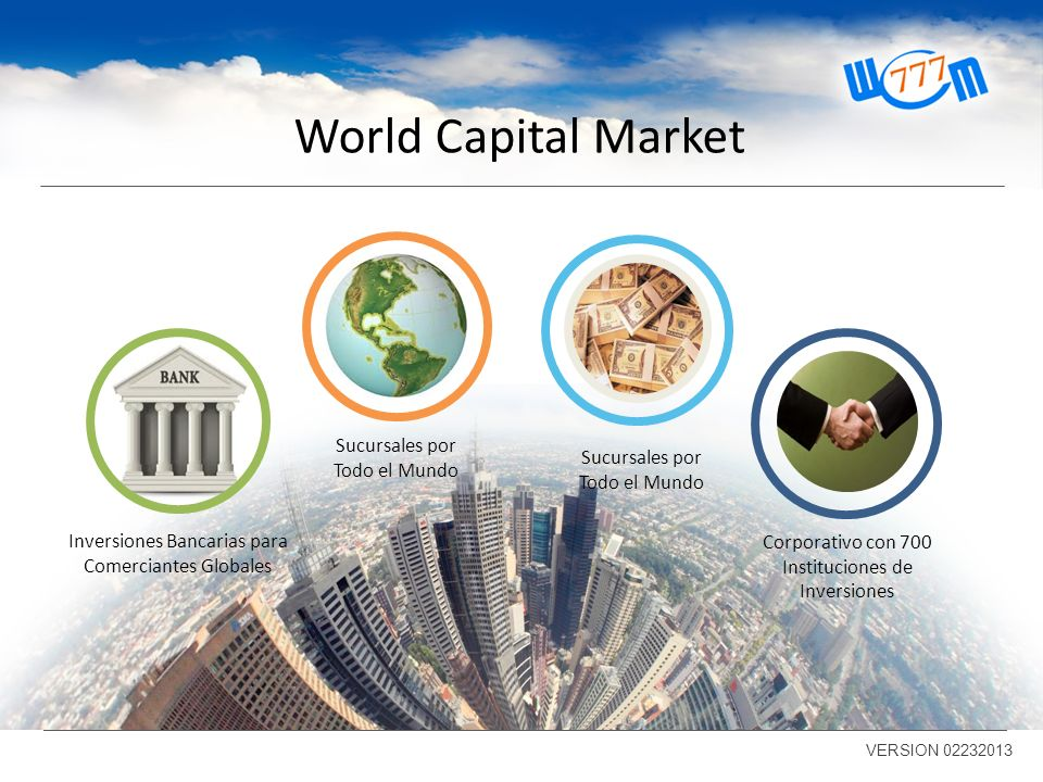 World Capital Market Sucursales por Todo el Mundo