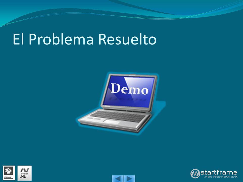 El Problema Resuelto Demo StartFrame Net Framework 3/3