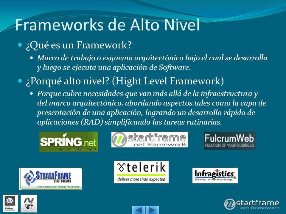 Frameworks de Alto Nivel