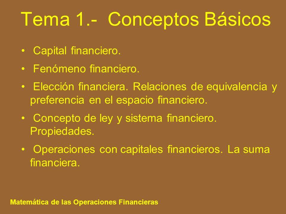 Tema 1.- Conceptos Básicos