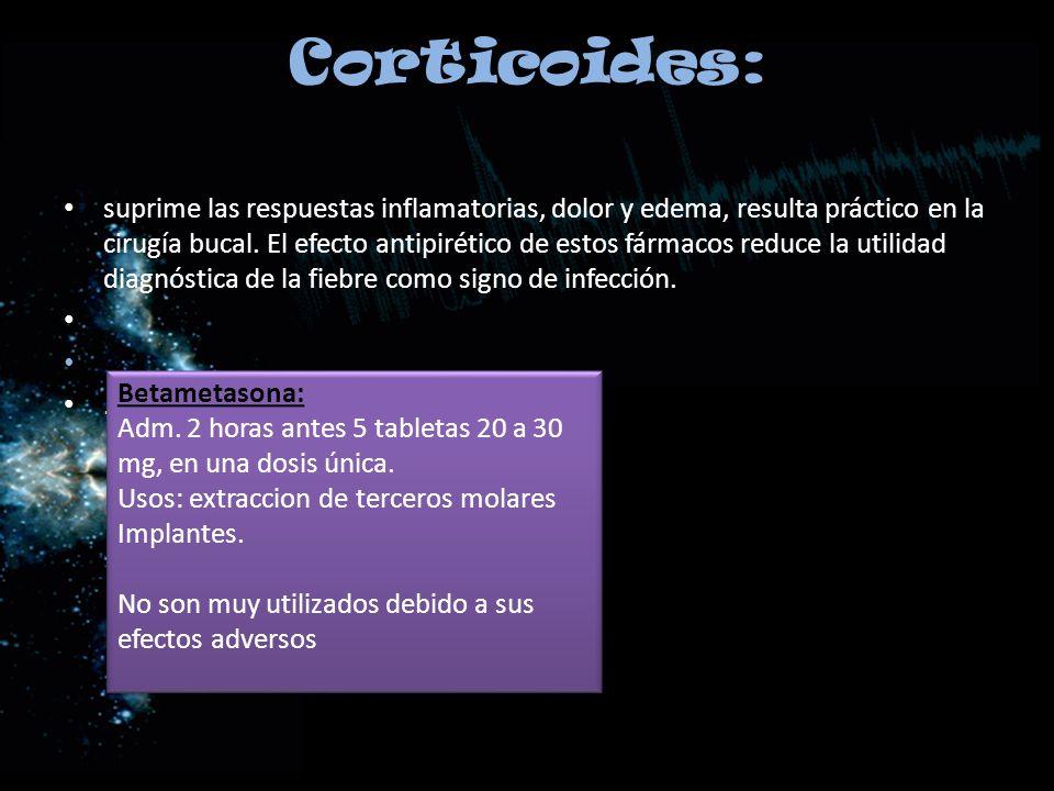 Corticoides: