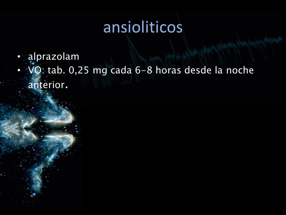 ansioliticos alprazolam