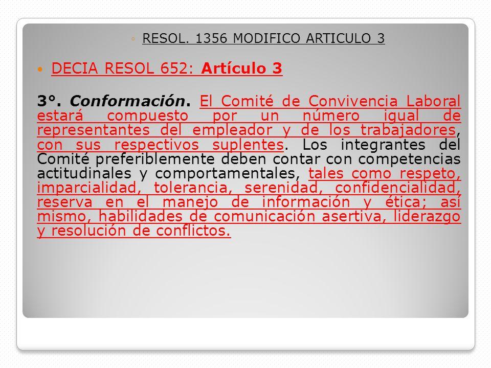 RESOL. 1356 MODIFICO ARTICULO 3