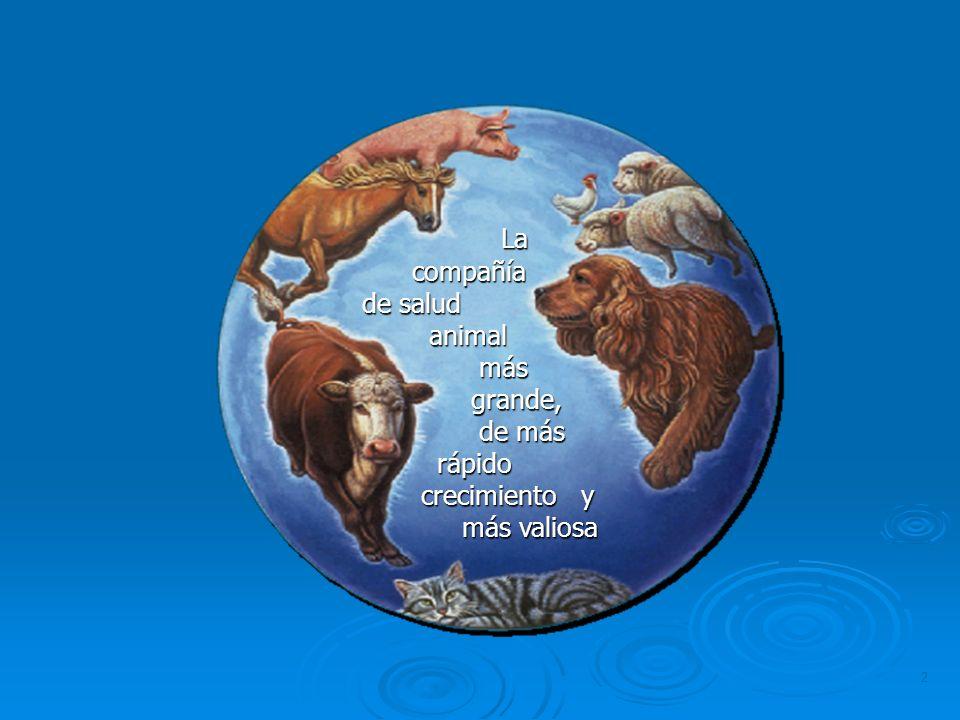 La compañía de salud animal más grande, de más rápido crecimiento y