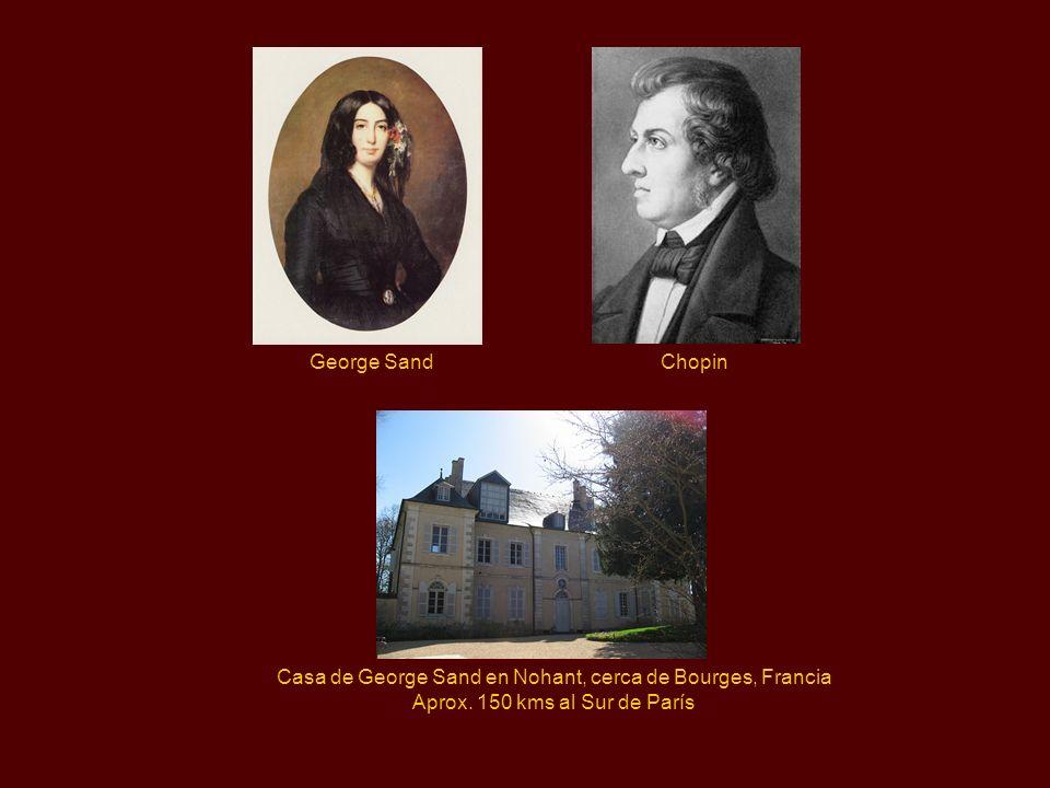 Casa de George Sand en Nohant, cerca de Bourges, Francia