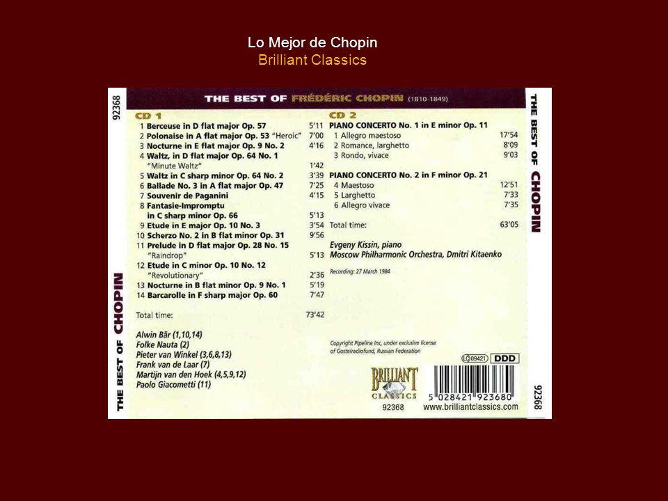 Lo Mejor de Chopin Brilliant Classics
