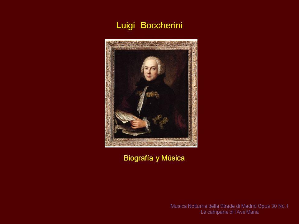 Luigi Boccherini Biografía y Música