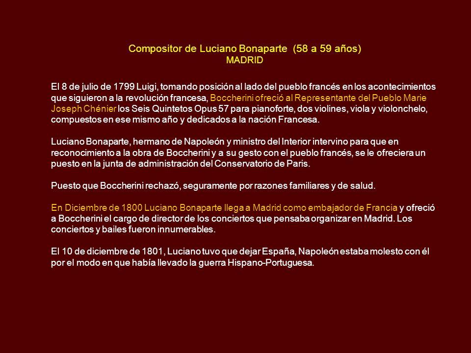 Compositor de Luciano Bonaparte (58 a 59 años) MADRID