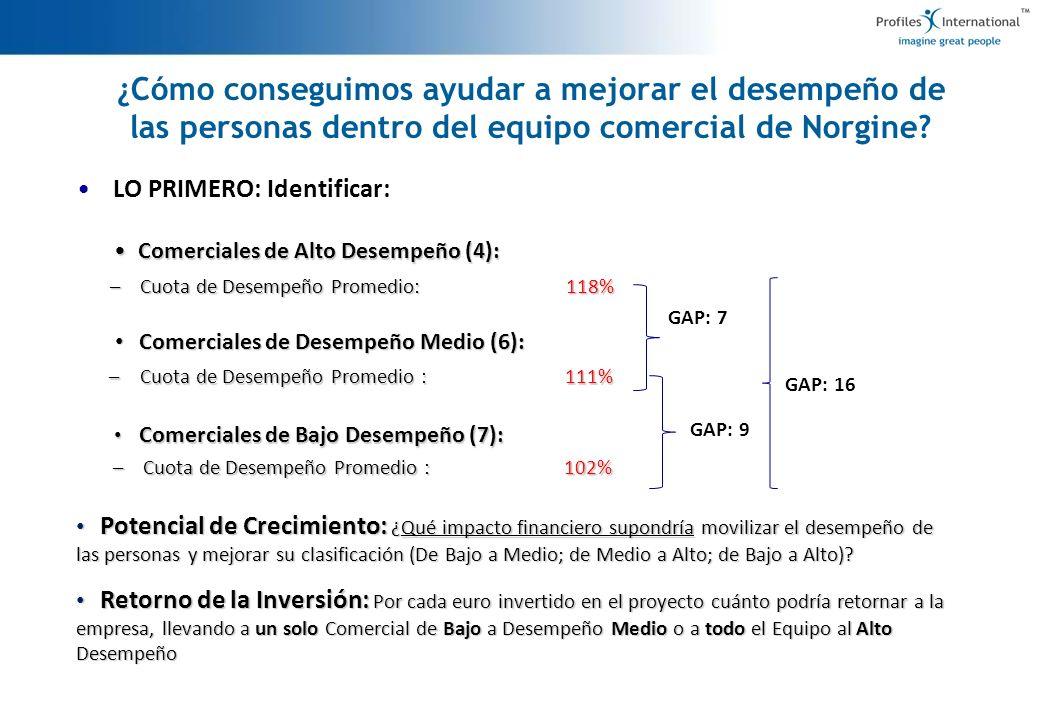 Proyecto Sales Force Effectiveness: Norgine Iberia