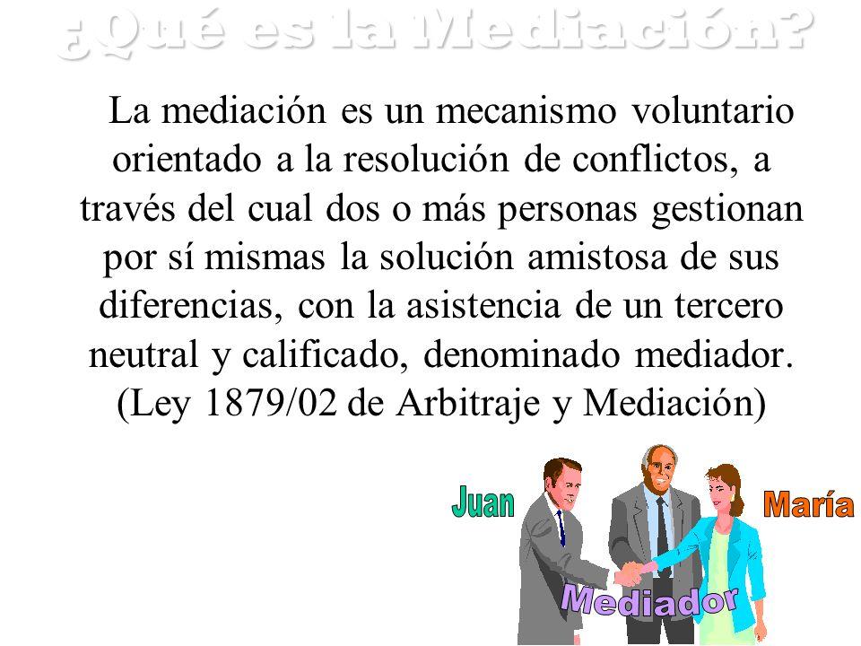¿Qué es la Mediación Juan María Mediador