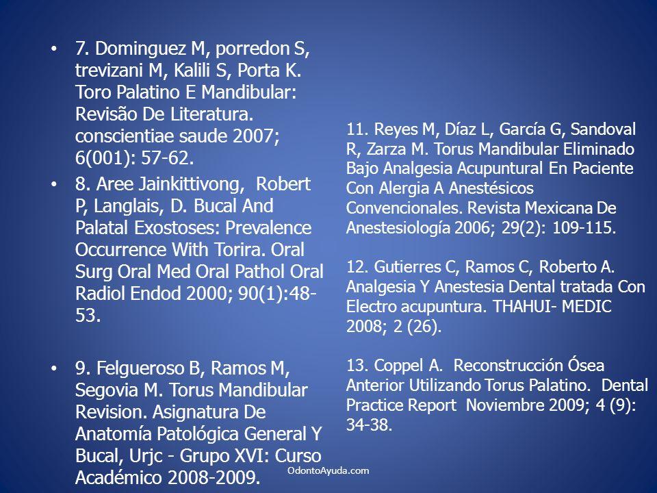 7. Dominguez M, porredon S, trevizani M, Kalili S, Porta K