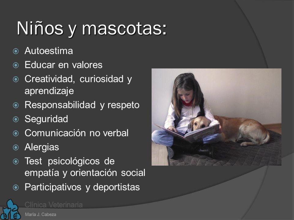 Niños y mascotas: Autoestima Educar en valores