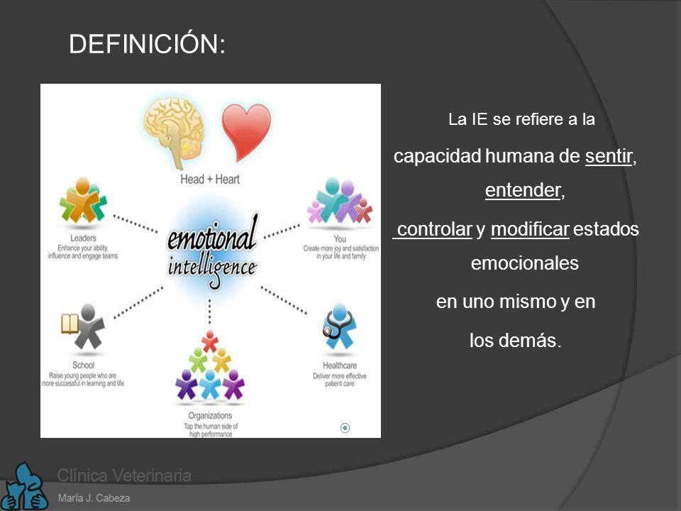 DEFINICIÓN: capacidad humana de sentir, entender,