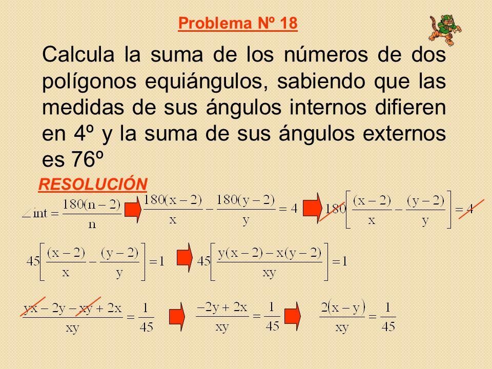 Problema Nº 18
