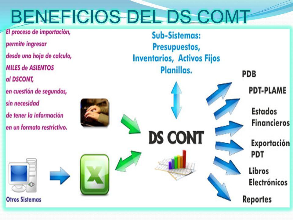 BENEFICIOS DEL DS COMT