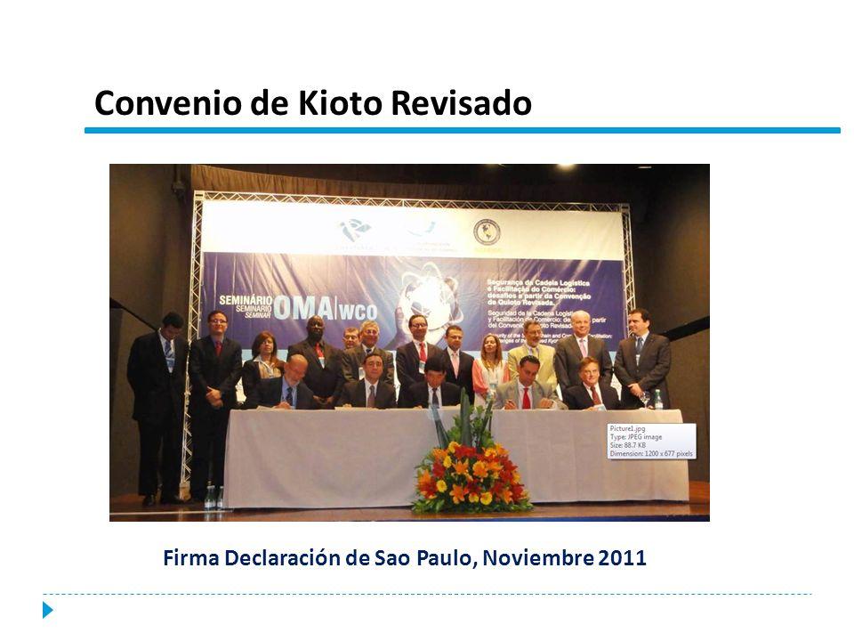 Convenio de Kioto Revisado