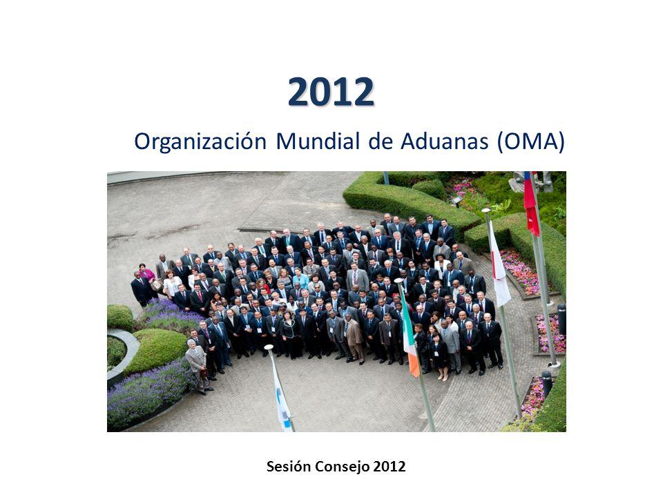 2012 Organización Mundial de Aduanas (OMA) Sesión Consejo 2012