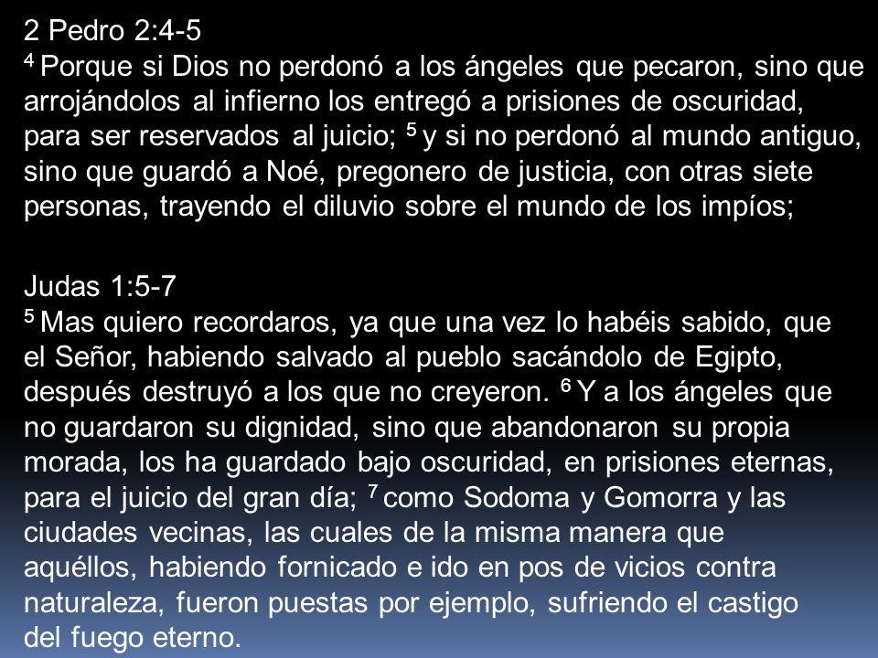 2 Pedro 2:4-5