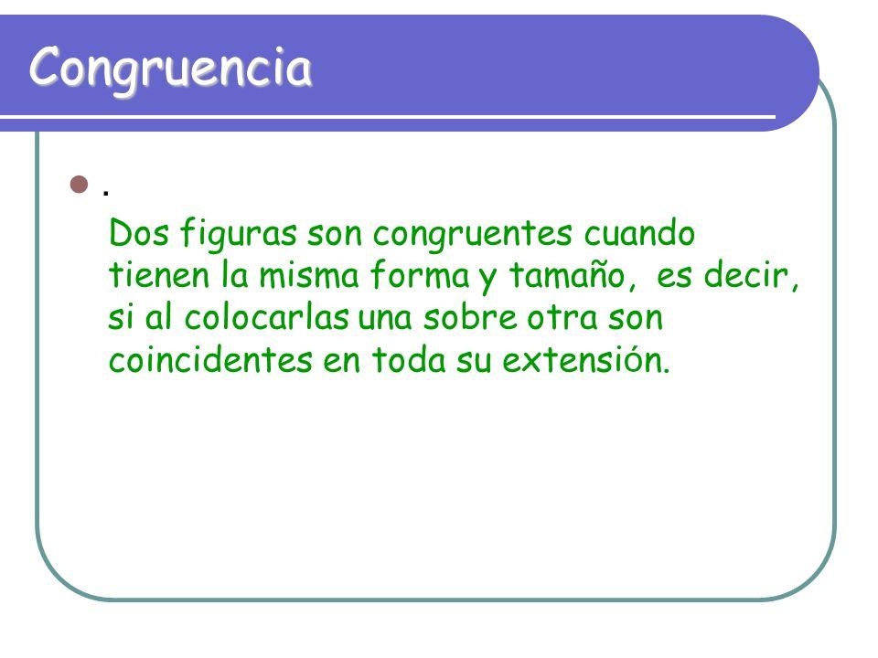 Congruencia .