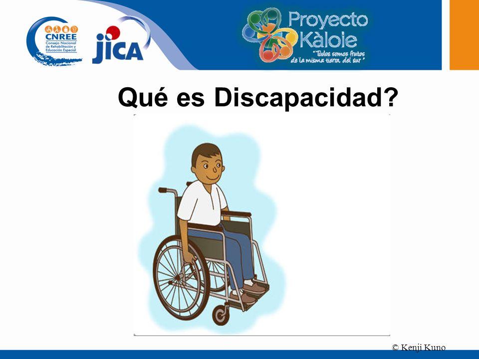 Qué es Discapacidad © Kenji Kuno 3