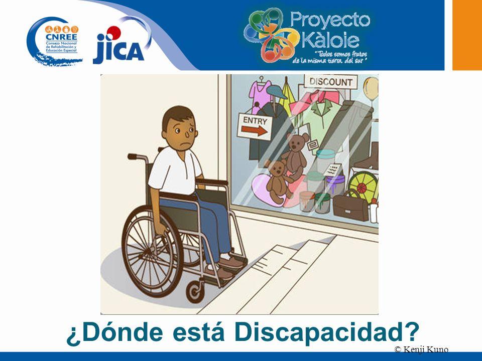 ¿Dónde está Discapacidad
