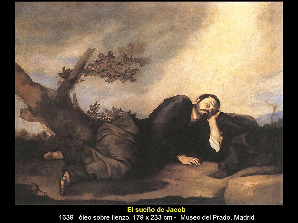 El sueño de Jacob 1639 óleo sobre lienzo, 179 x 233 cm - Museo del Prado, Madrid