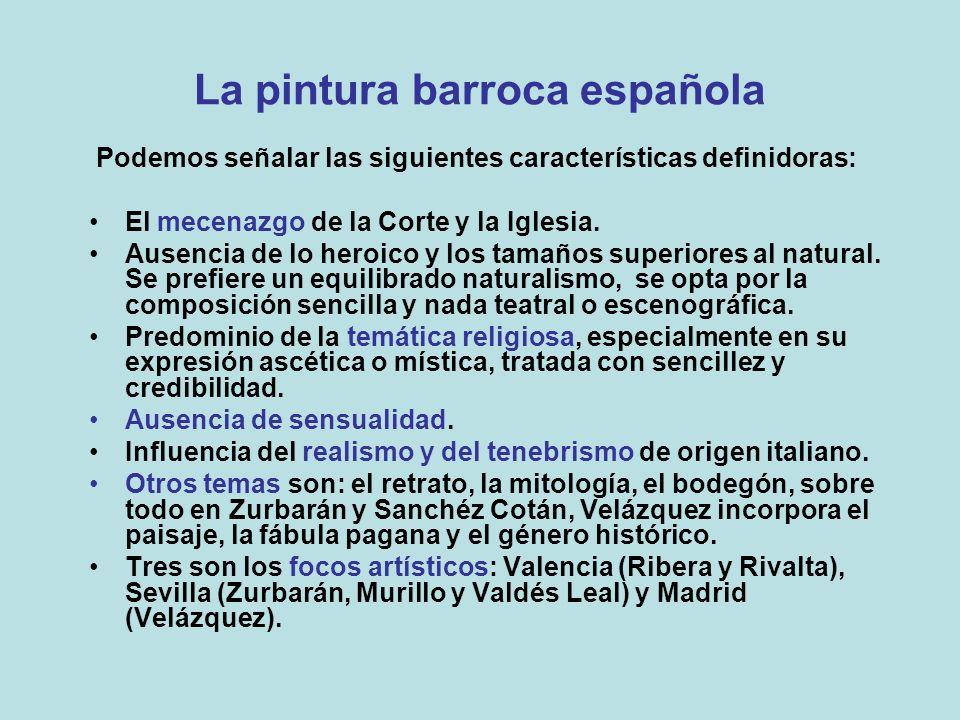 La pintura barroca española