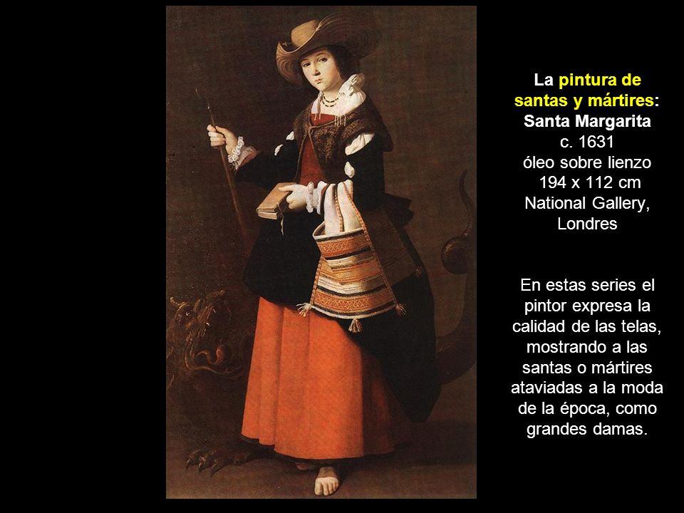 La pintura de santas y mártires: Santa Margarita c