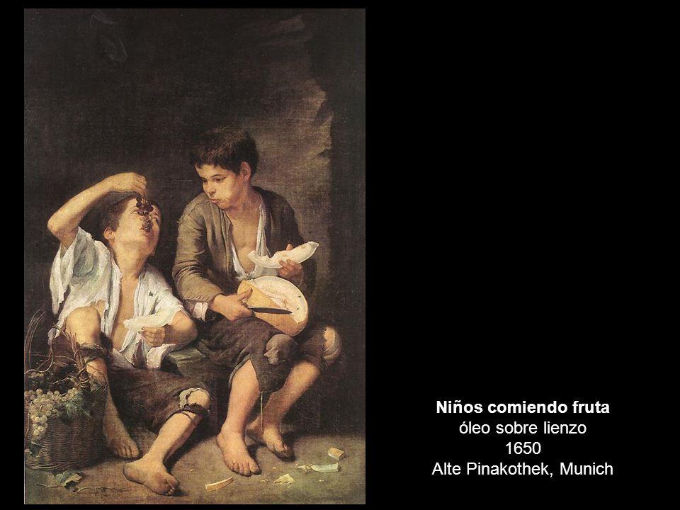 Niños comiendo fruta óleo sobre lienzo 1650 Alte Pinakothek, Munich