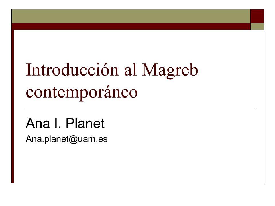 Introducción al Magreb contemporáneo