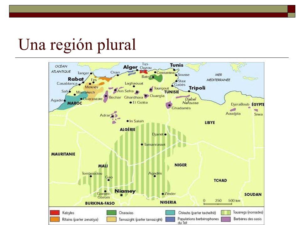 Una región plural