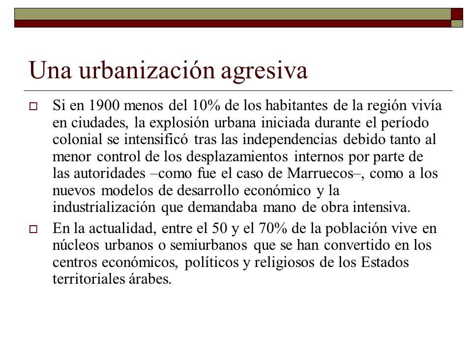 Una urbanización agresiva