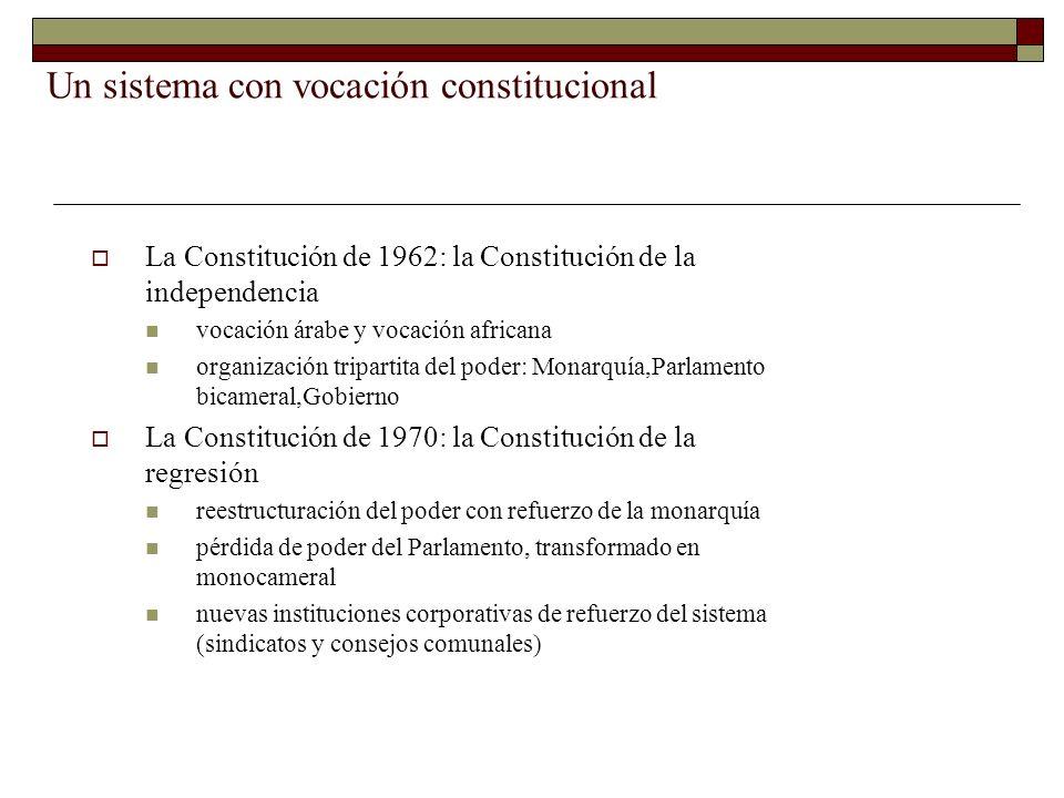 Un sistema con vocación constitucional
