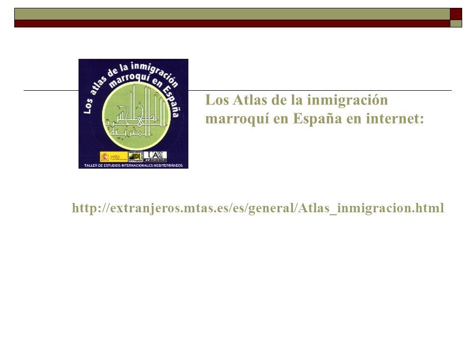 Los Atlas de la inmigración marroquí en España en internet: