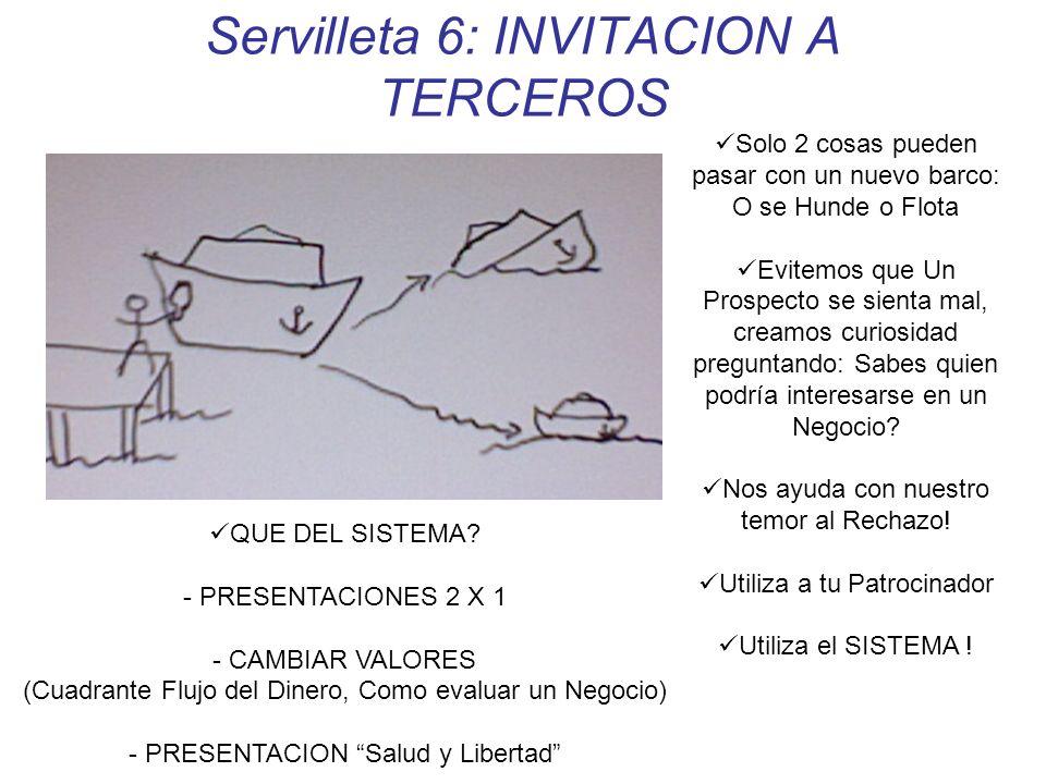 Servilleta 6: INVITACION A TERCEROS
