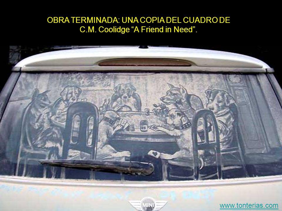 OBRA TERMINADA: UNA COPIA DEL CUADRO DE C. M