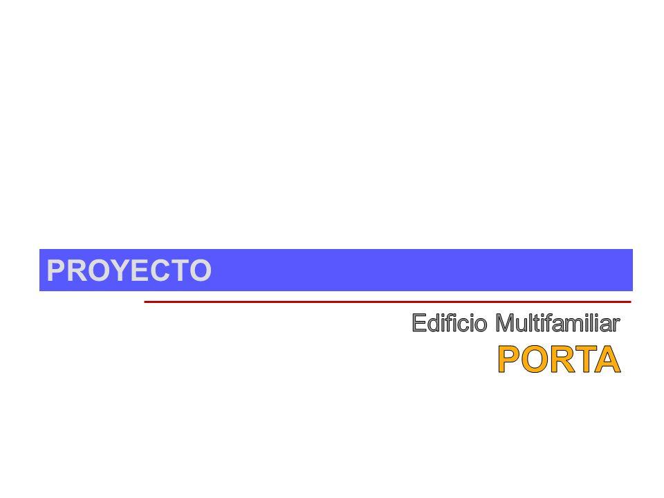 PROYECTO Edificio Multifamiliar PORTA