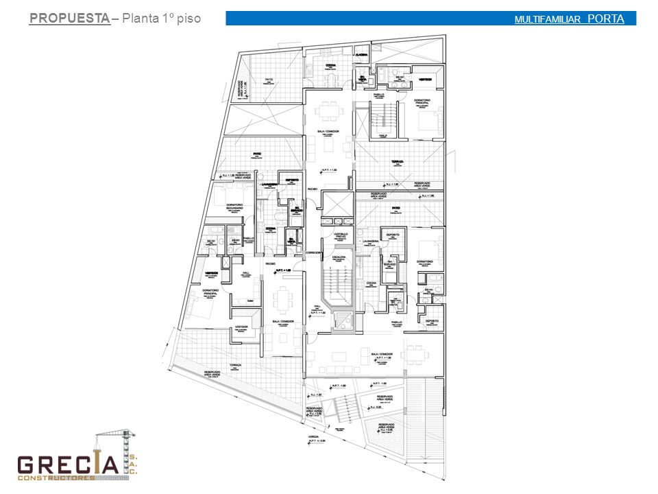 PROPUESTA – Planta 1º piso