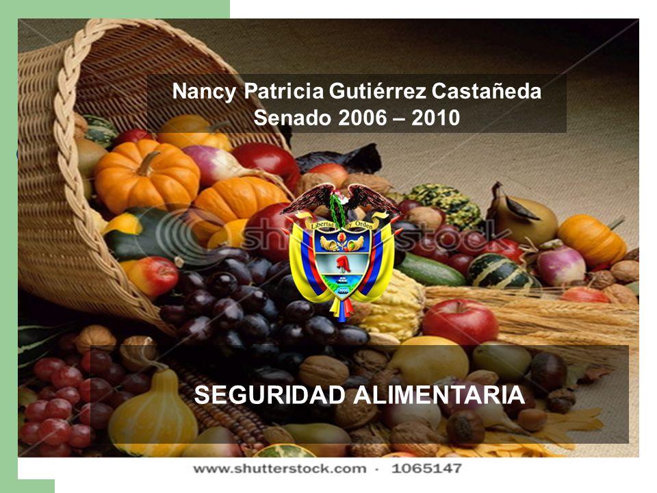 Nancy Patricia Gutiérrez Castañeda SEGURIDAD ALIMENTARIA