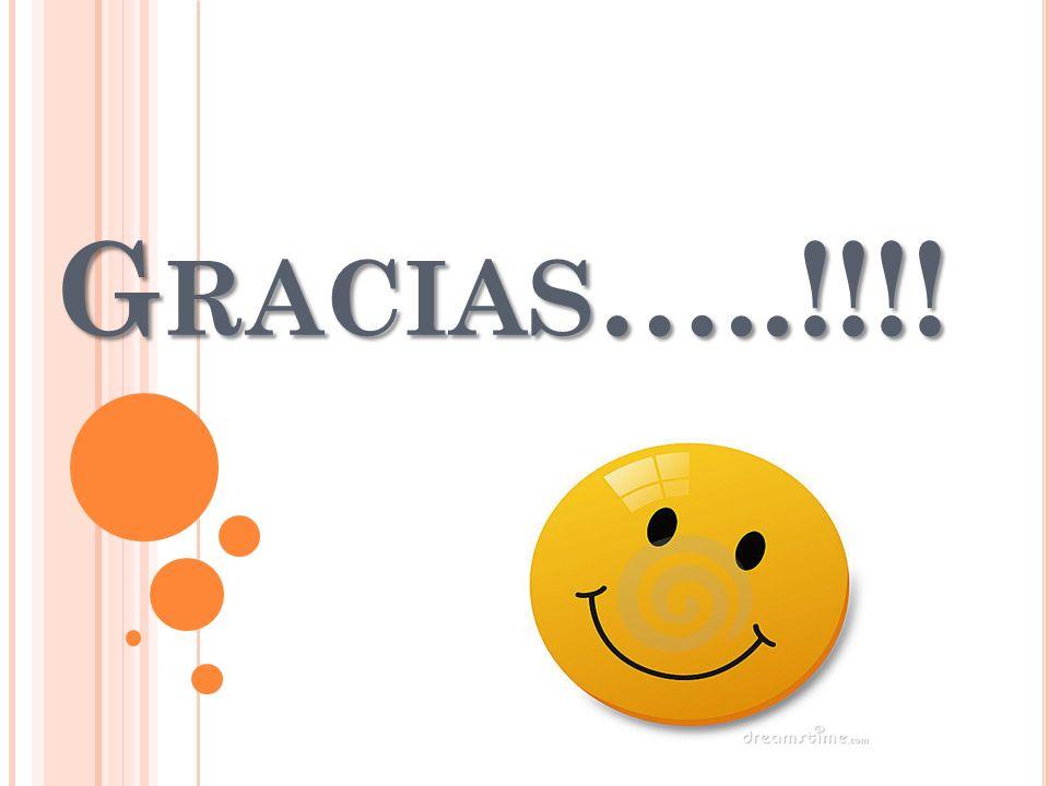 Gracias…..!!!!