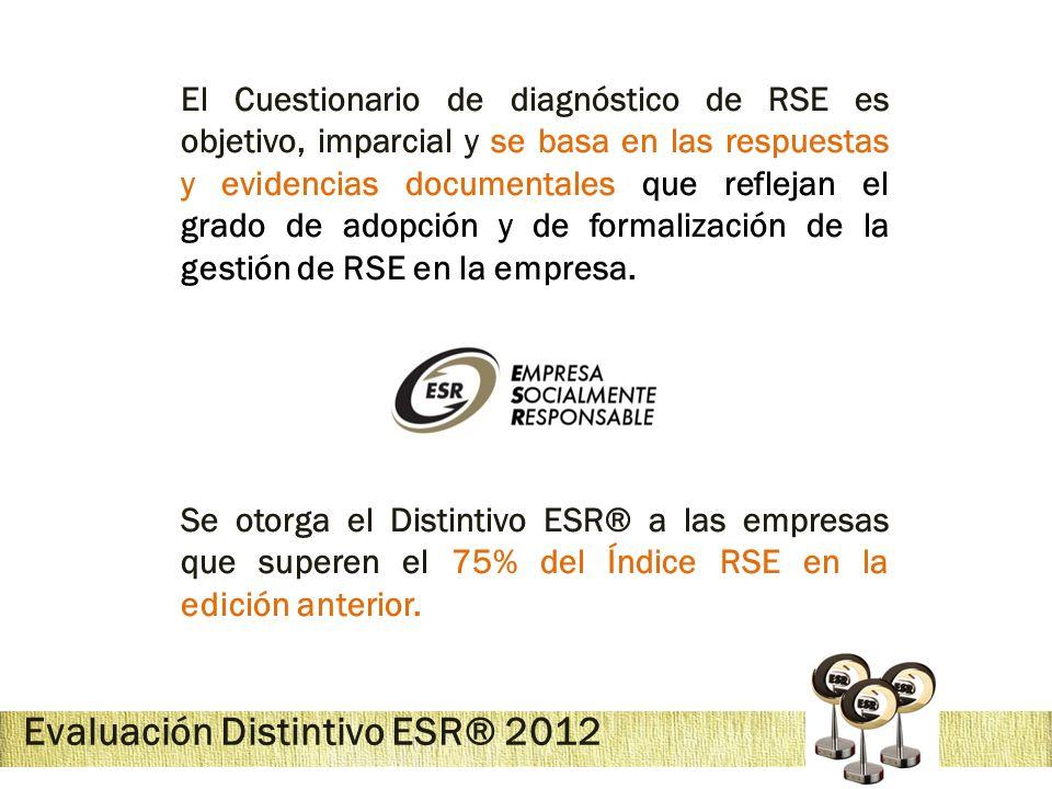 Evaluación Distintivo ESR® 2012