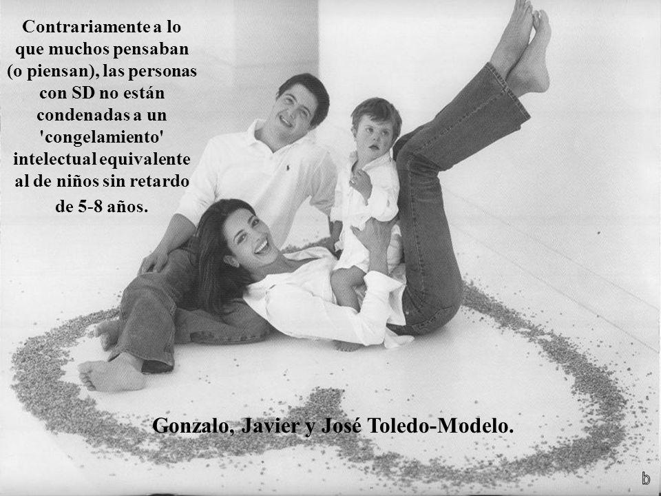 Gonzalo, Javier y José Toledo-Modelo.