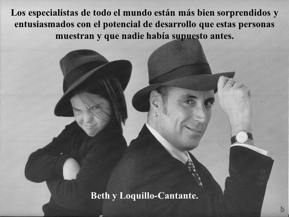 Beth y Loquillo-Cantante.