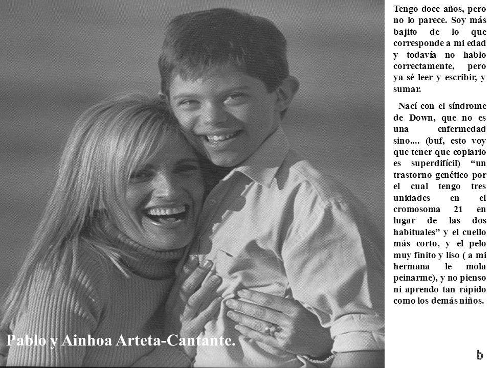 Pablo y Ainhoa Arteta-Cantante.