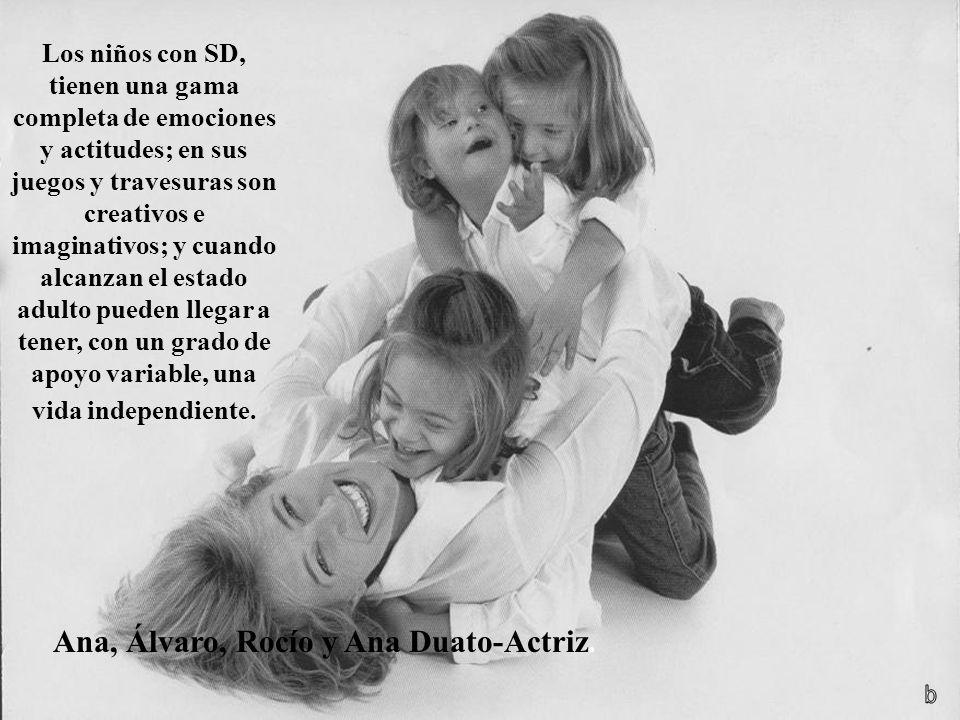 Ana, Álvaro, Rocío y Ana Duato-Actriz.