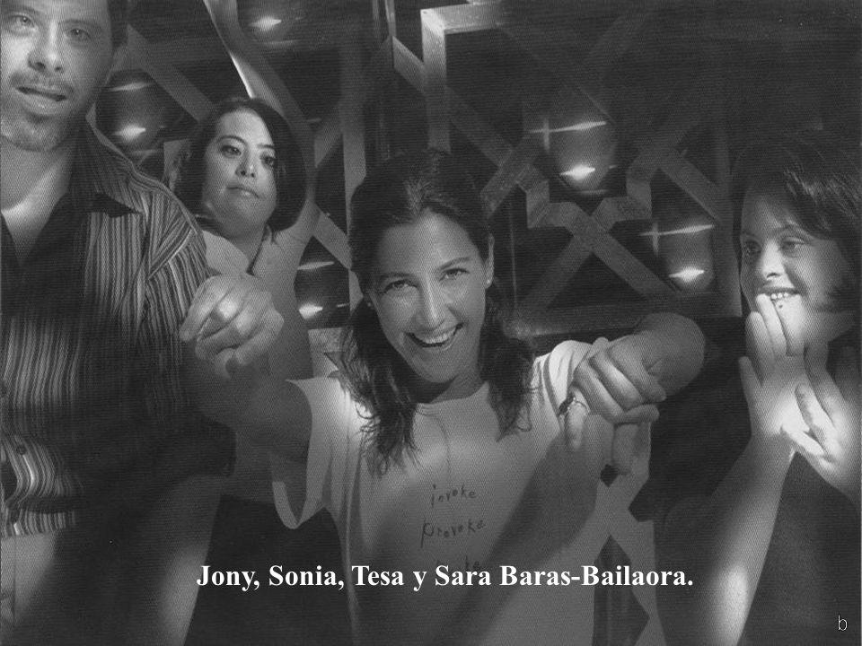 Jony, Sonia, Tesa y Sara Baras-Bailaora.