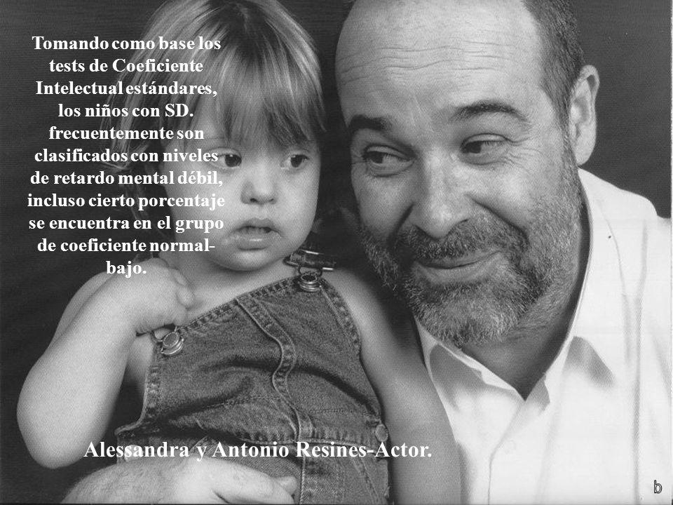 Alessandra y Antonio Resines-Actor.