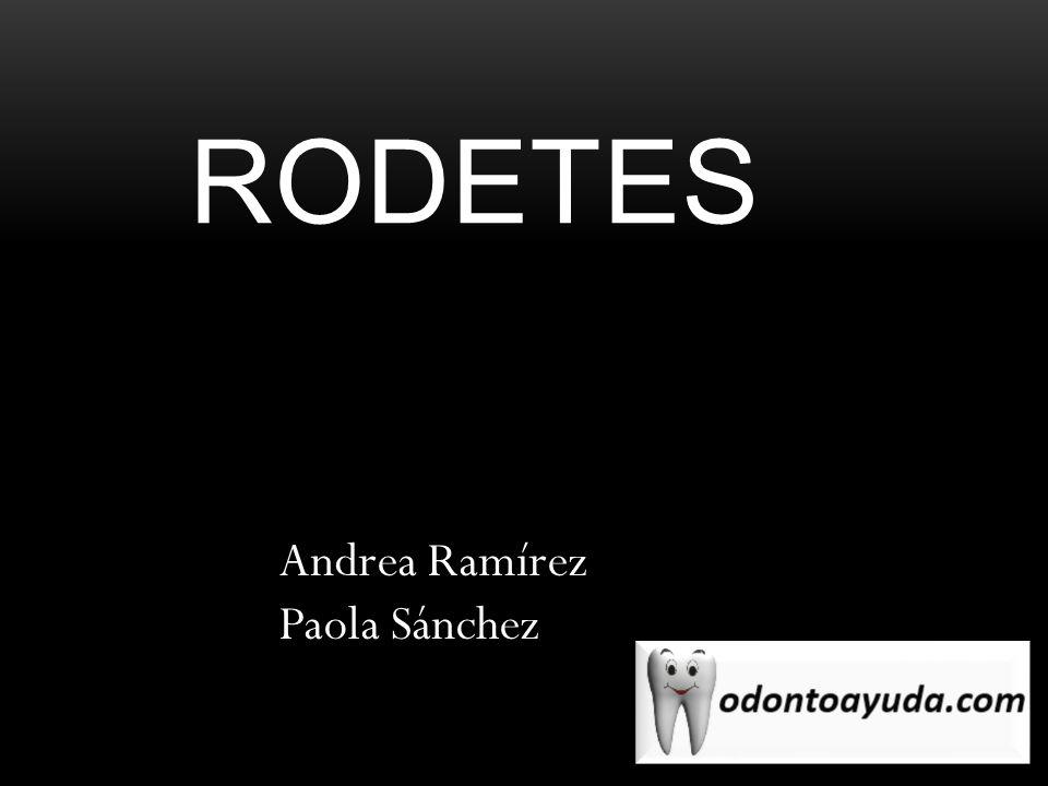 rodetes Andrea Ramírez Paola Sánchez