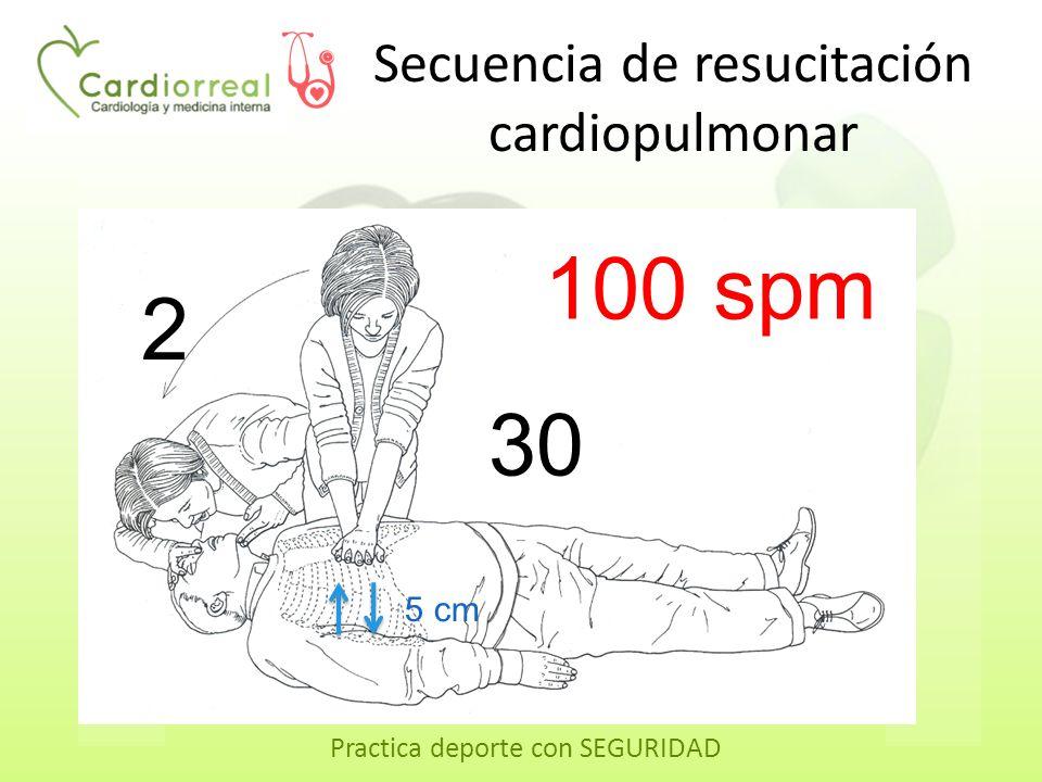 Secuencia de resucitación cardiopulmonar