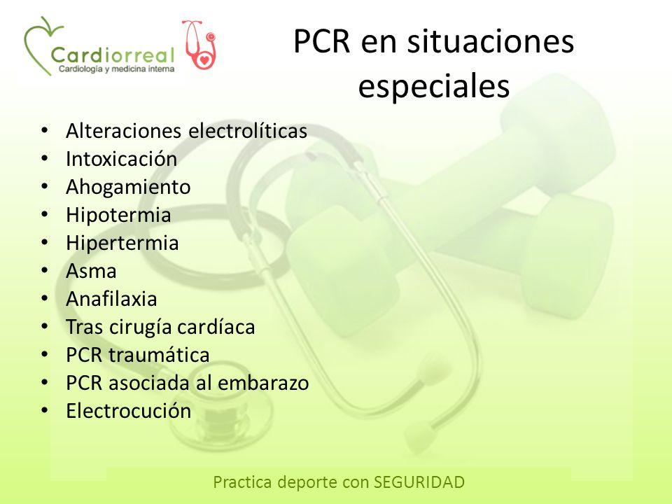 PCR en situaciones especiales